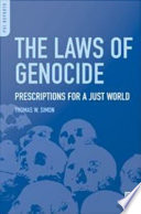 The Laws Of Genocide Book