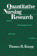 Quantitative Nursing Research