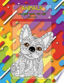 Animals Coloring Book for Kids - Thick Lines