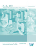 Census of population and housing  2000   Florida Summary Population and Housing Characteristics