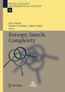 Entropy, Search, Complexity Pdf/ePub eBook