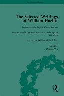 The Selected Writings of William Hazlitt Vol 5