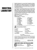 Industrial Laboratory Book
