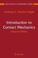 Pdf Introduction to Contact Mechanics