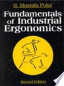 Fundamentals of Industrial Ergonomics