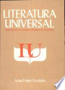 Literatura Universal. Introducción a la Literatura Moderna de Occidente