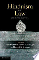 Hinduism and Law