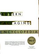 Modern Packaging Encyclopedia Book