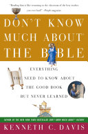 Don't Know Much About the Bible Pdf/ePub eBook