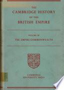 The Cambridge History Of The British Empire