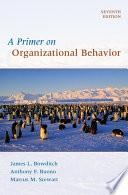 A Primer on Organizational Behavior