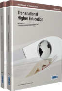 Handbook of Research on Transnational Higher Education