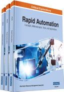 Rapid Automation: Concepts, Methodologies, Tools, and Applications [Pdf/ePub] eBook