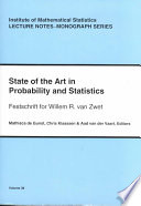 State Of The Art In Probability And Statistics