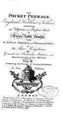 Pdf The Pocket Peerage of England, Scotland Et Ireland