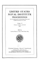 Pdf Proceedings of the United States Naval Institute