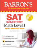 SAT Subject Test Math Level 1