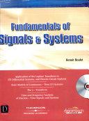 Fundamentals Of Signals Systems