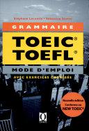 La grammaire au TOEIC et au TOEFL