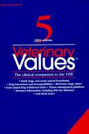 Veterinary Values Book