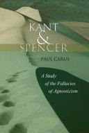 Kant and Spencer [Pdf/ePub] eBook