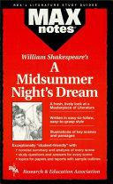 Midsummer Night s Dream  a  MAXNotes Literature Guides