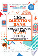 Oswaal CBSE Question Bank Class 11 Biology Chapterwise & Topicwise (For March 2020 Exam)