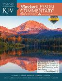 KJV Standard Lesson Commentary(r) Deluxe Edition 2020-2021