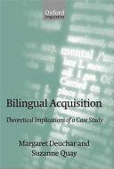 Bilingual Acquisition