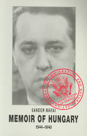 Memoir of Hungary Pdf/ePub eBook