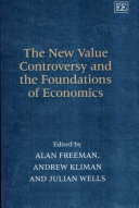 The New Value Controversy and the Foundations of Economics