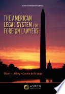 The American Legal System For Foreign Lawyers