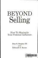 Beyond Selling