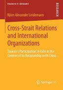 Cross-Strait Relations and International Organizations Pdf/ePub eBook