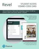 Revel for Visions of America Book PDF
