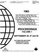 International Electrical  Electronics Conference Proceedings