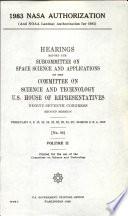 1983 NASA Authorization