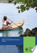 Solomon Islands National Situation Analysis Book PDF