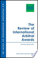 The Review Of International Arbitral Awards