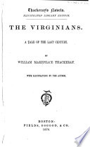 The Virginians Book PDF