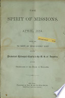 The Spirit Of Missions Book PDF