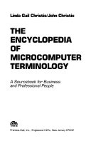 The Encyclopedia Of Microcomputer Terminology