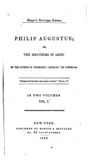 Pdf Philip Augustus; Or, The Brothers in Arms ...