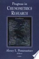 Progress in Chemometrics Research Book