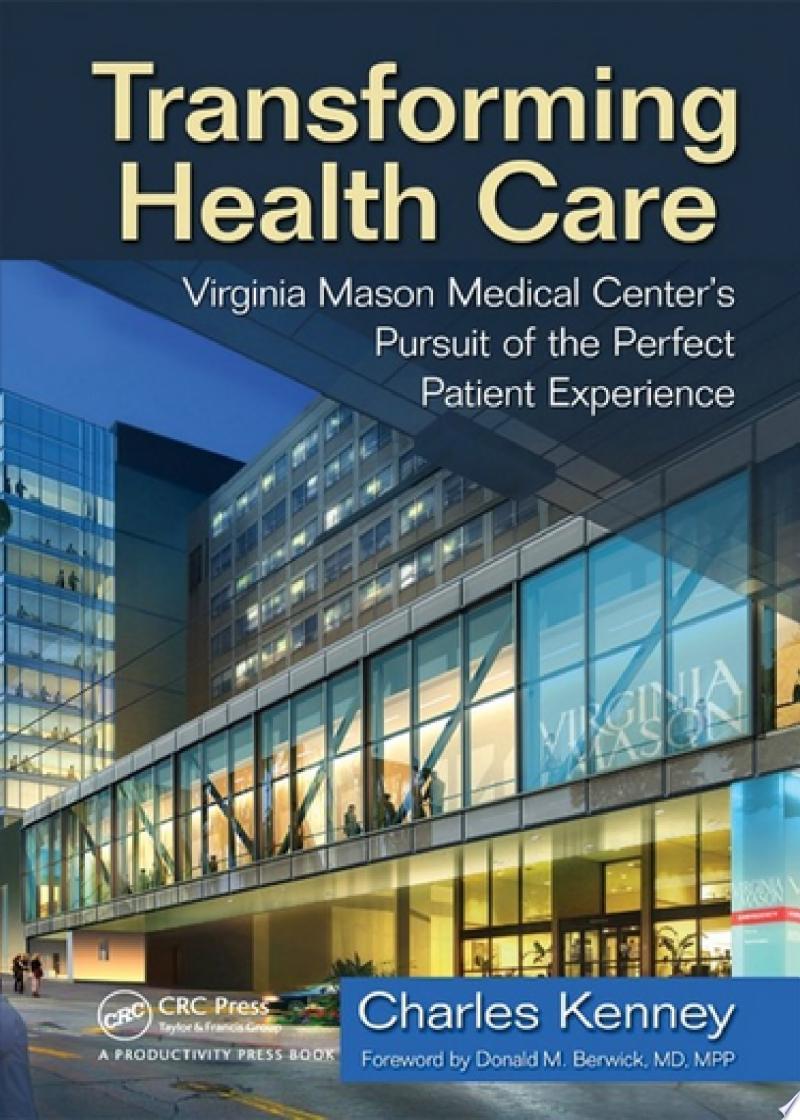 Transforming Health Care banner backdrop