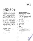 Problems of Communism