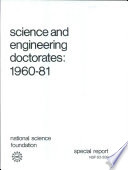 Science And Engineering Doctorates Book PDF