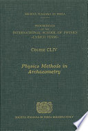 Physics Methods in Archaeometry Book