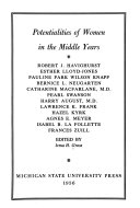 Potentialities of Women in the Middle Years Book