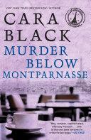 Pdf Murder Below Montparnasse